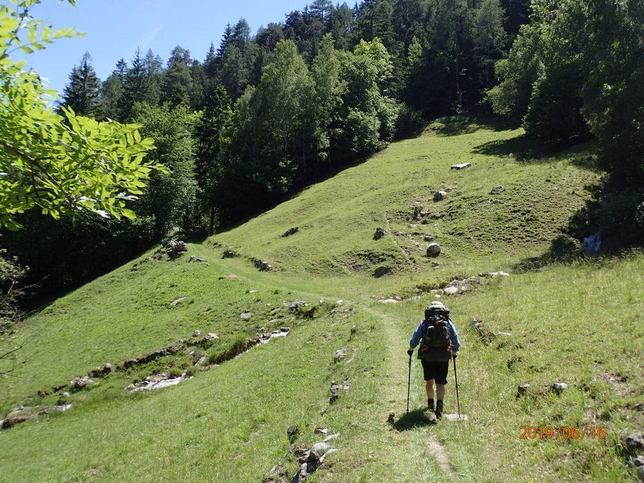 Heading towards Orsieres