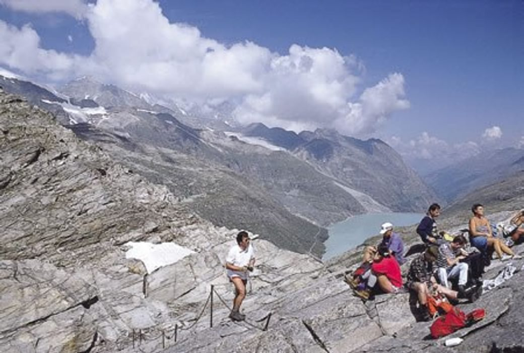 (Photo by Kev Reynolds taken from 'Walking in the Alps')