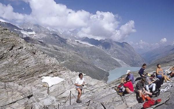 (Photo by Kev Reynolds taken from 'Walking in the Alps')