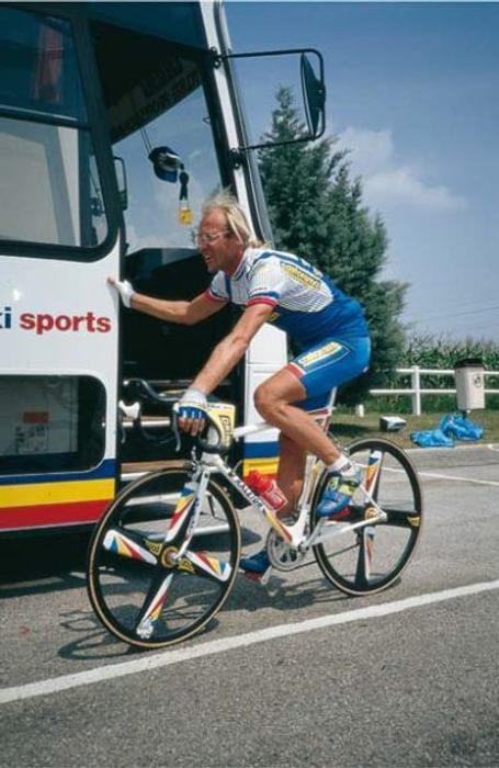 Laurent Fignon In The Tour De France 1991