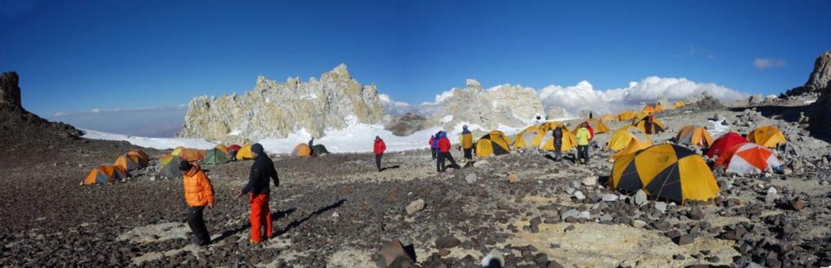 Colera campsite at 5970m