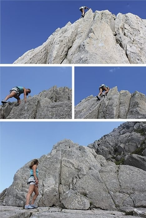 North Wales or Yosemite? Superb conditions on Notch Arête