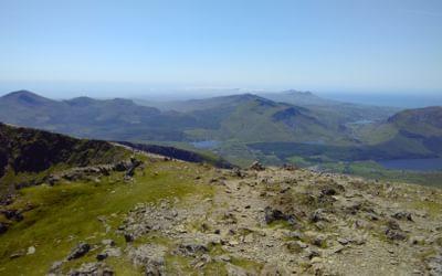 Looking West From Garnedd Ugain
