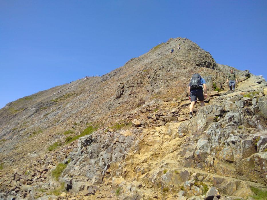 The East Ridge Of Crib Goch
