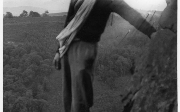 Walt Unsworth Early Climbing