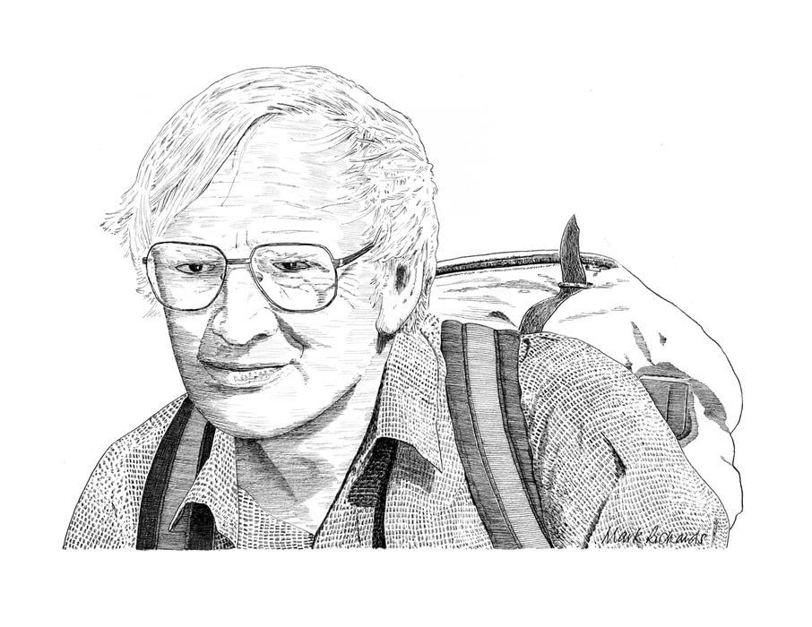 Walt Unsworth Pen Portrait