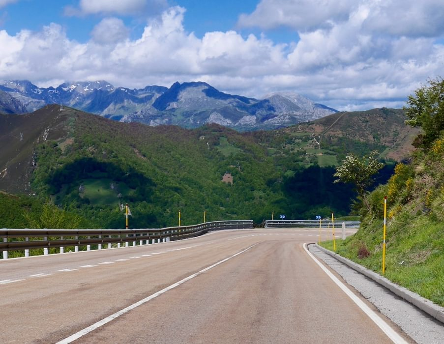 Part Of 1000M Descent Into The Asturias