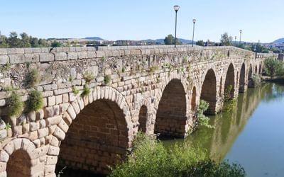 The Worlds Longest Roman Bridge At Merida