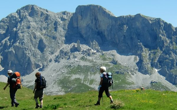 Silvretta And Ratikon Alps