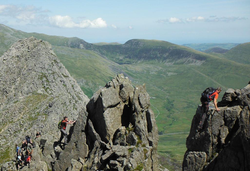 At The Great Pinnacle Gap On Bristly Ridge
