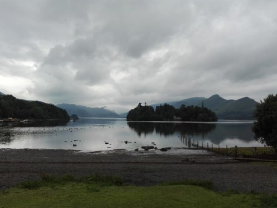 The Shore Of Derwentwater Still Beautiful Despite The Weather