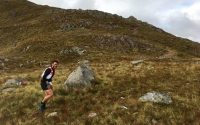 Buchaille Etive Beag during Salomon Glencoe Skyline race