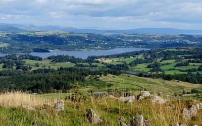 17 Windermere From Black Fell