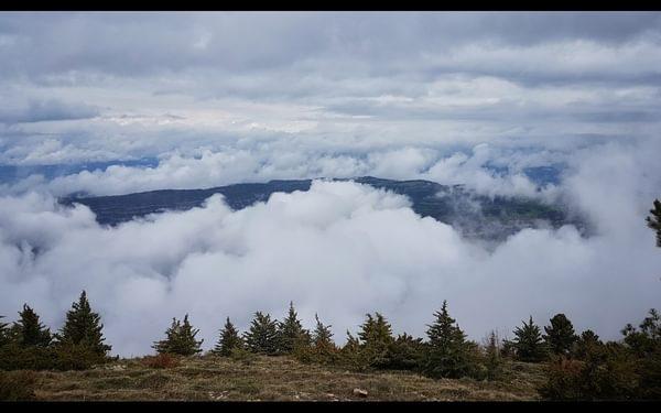Day 16 In Between Cloud Layers In The Serre Del Montsec Range