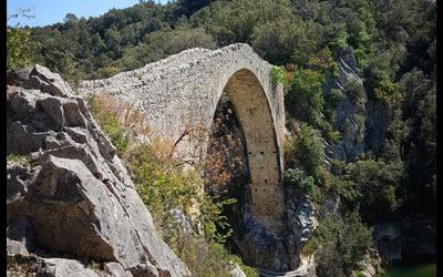 Day 4 View Of The Llierca Bridge