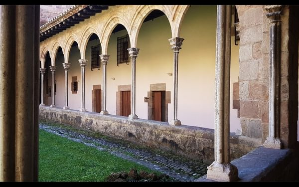 Day 6 Cloister At Sant Joan De Les Abadesses