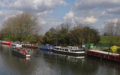 The Lea Navigation From Spring Hill Bridge