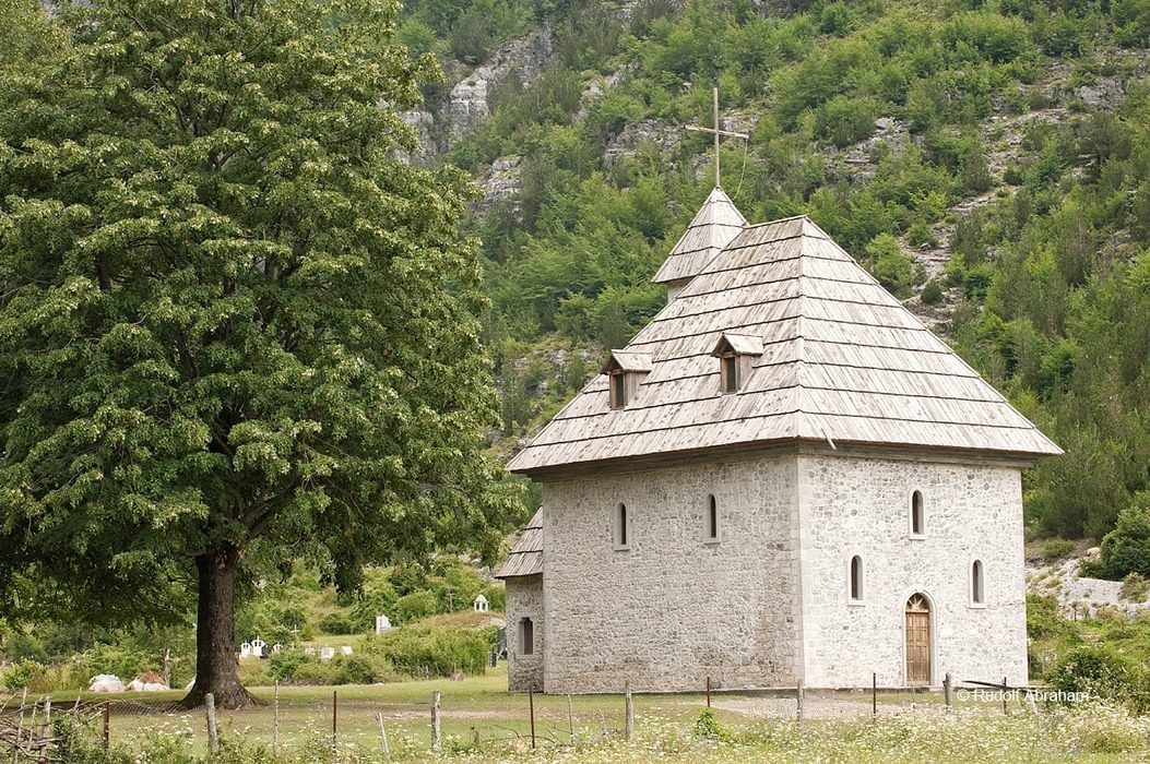 Peaks Of The Balkans  Church In Theth Albania  Rudolf Abraham