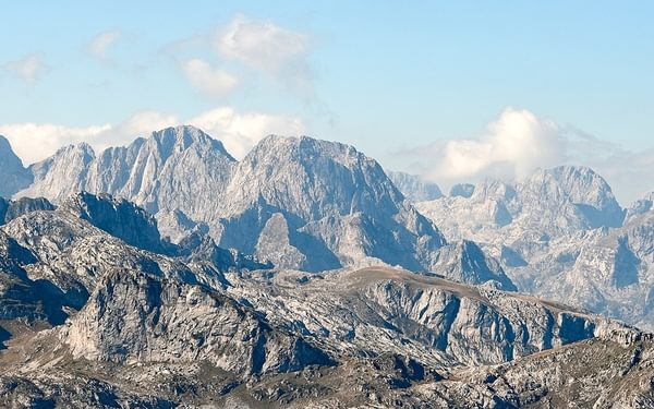 Peaks Of The Balkans  The Mountains Above The Ropojana Valley Montenegro  Rudolf Abraham