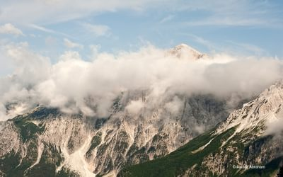Peaks Of The Balkans  View From The Valbona Pass Albania  Rudolf Abraham