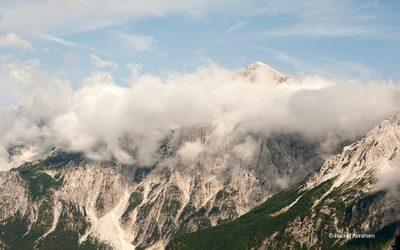 Peaks Of The Balkans  View From The Valbona Pass Albania  Rudolf Abraham