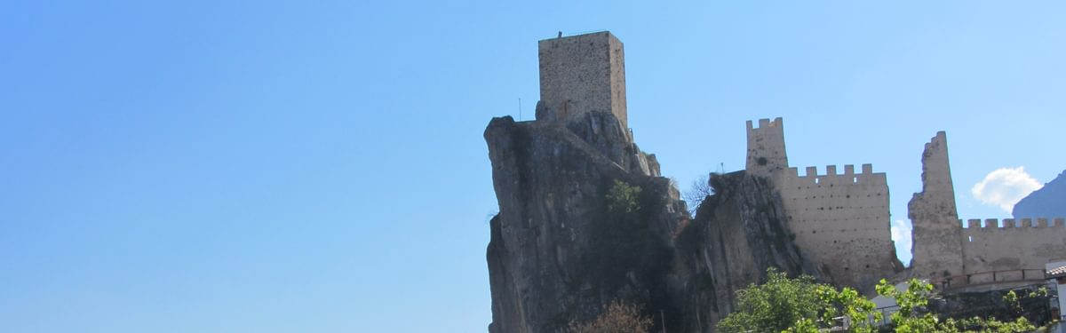 Castle At La Iruela In The Sierra De Cazorla Cover