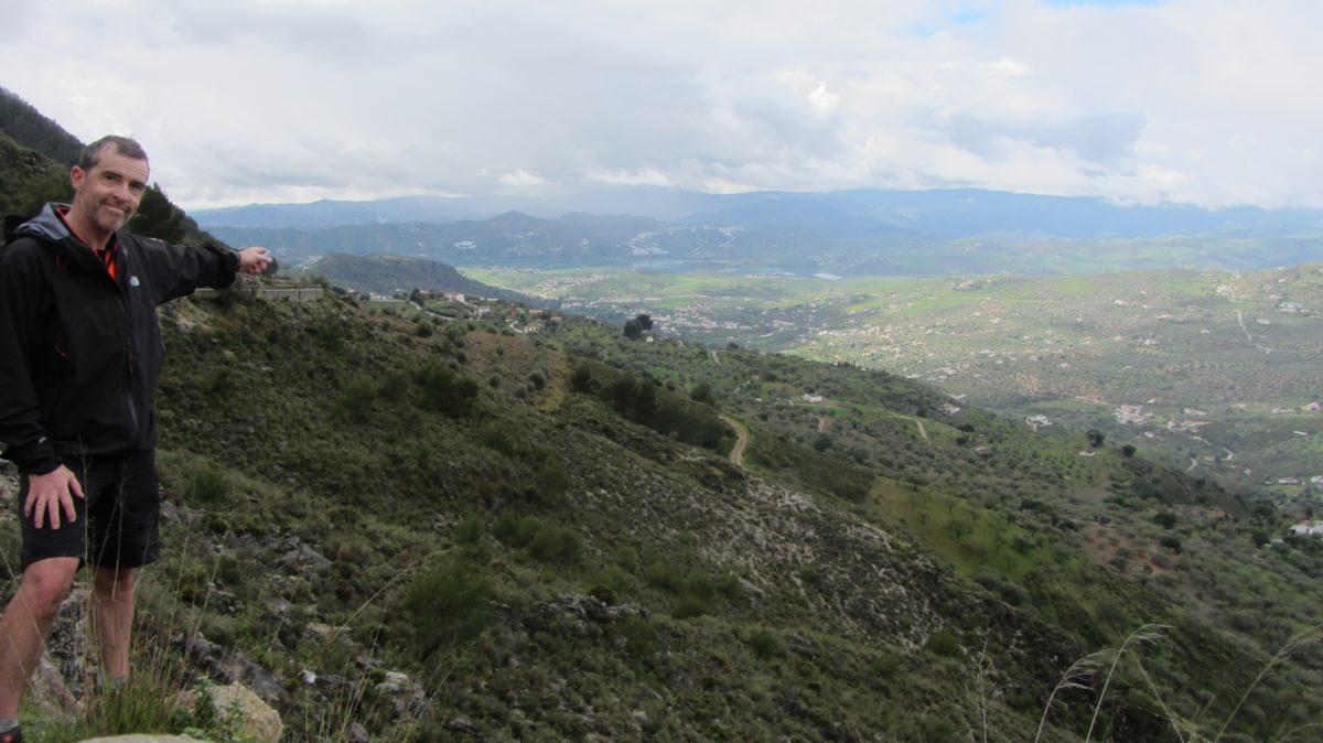 Looking Back Towards Vinuela