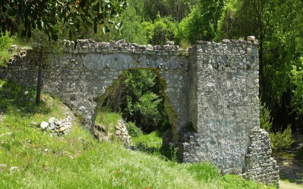 Ruin Of A Watermill