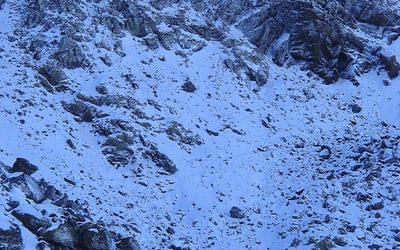 11 Starting The Traverse Below The Tajos De La Virgen Ridge