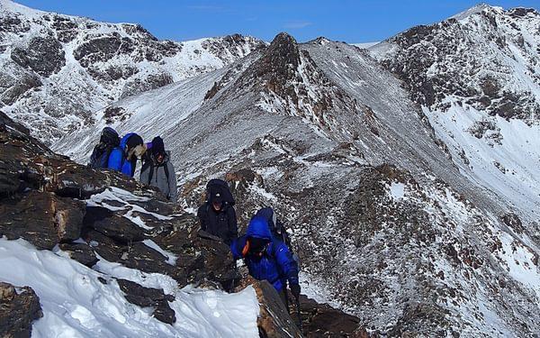 15 The Ridge South To Pico Del Tajo De Los Machos