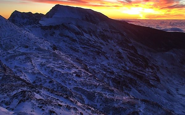 7 The Colourful Sunrise Over Mulhacen And Alcazaba