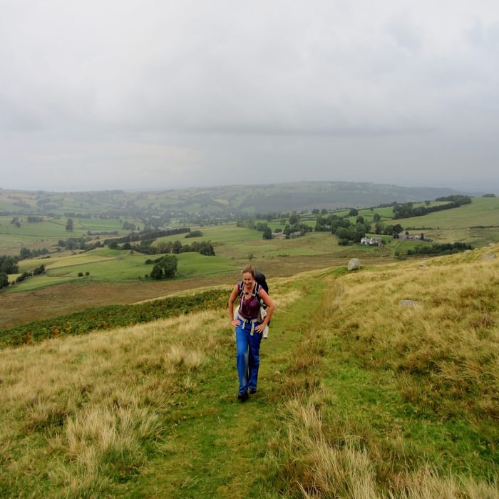 Sal On The Ascent Of High Pike