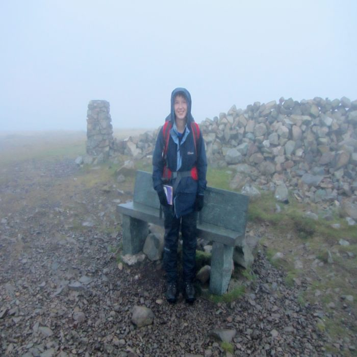 High Pike 658M The Highest Point Of The Cumbria Way