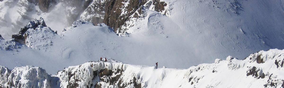 On the ridge above Tizi Toubkal