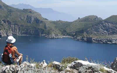 Baia di Ieranto, Amalfi coast