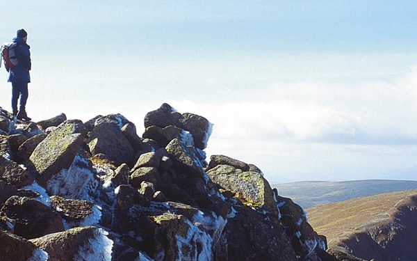 summit of Angel's Peak, Cairngorms