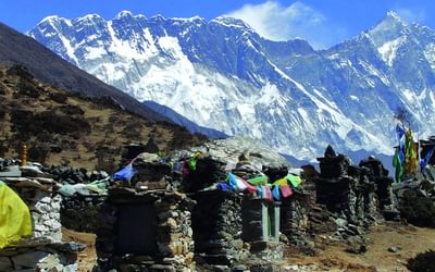Chortens at Upper Pangboche, Everest