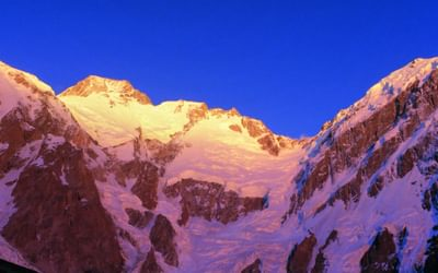 The Diamir Face above Nangar Parbat Base Camp
