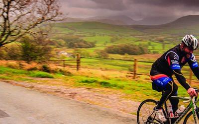 Cyclists near Ennerdale, Cumbria