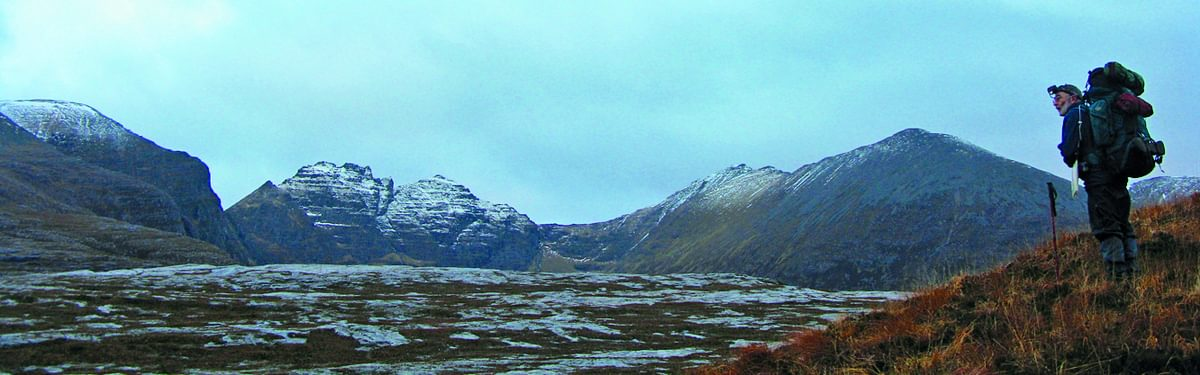 An Teallach ridge on the Cape Wrath Trail