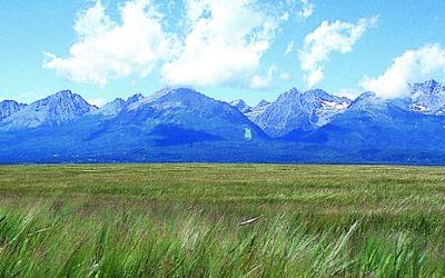 The High Tatras from near Poprad, Slovakia