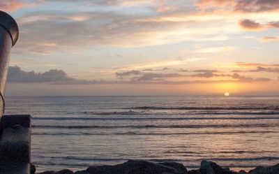 Sunset at Strandhills, west coast of Ireland
