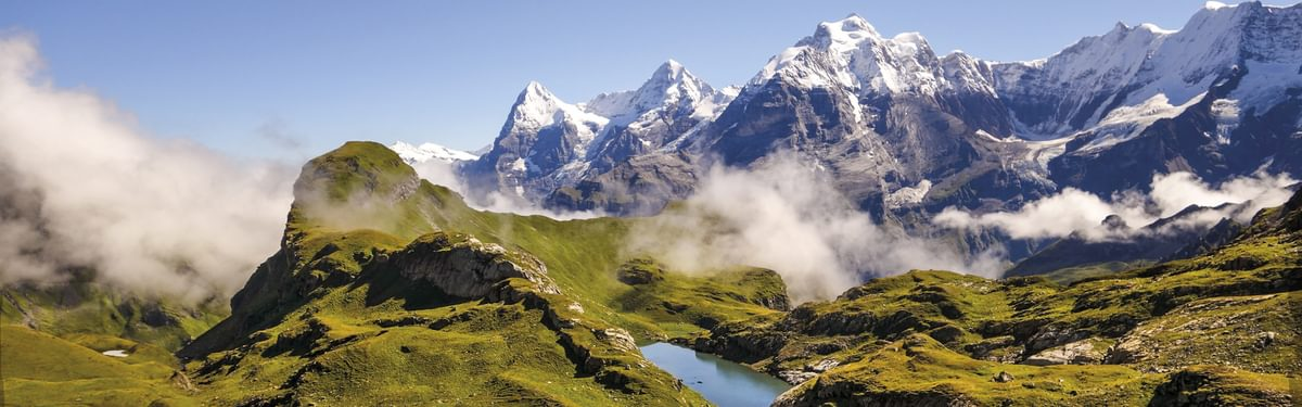 Bernese Oberland, Eiger, Monch and Jungfrau