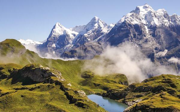 Bernese Oberland, Eiger, Monch and Jungfrau