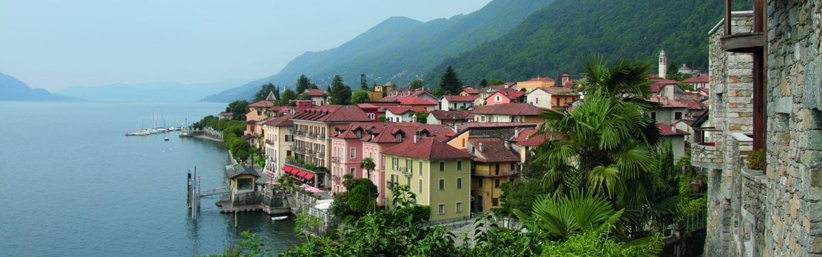 Cannero Riviera, Lake Maggiore, Italy