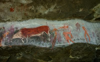 Rosetta Panel at Game Pass Shelter, Drakensberg