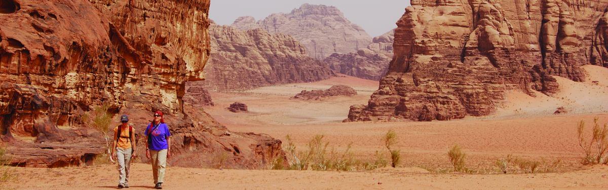 Abu Khashaba canyon, Wadi Rum, Jordan