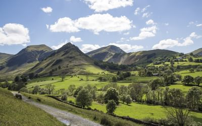 The Newlands Valley (leg 5, Bob Graham Round)