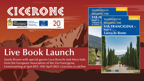 Via Francigena Book Launch