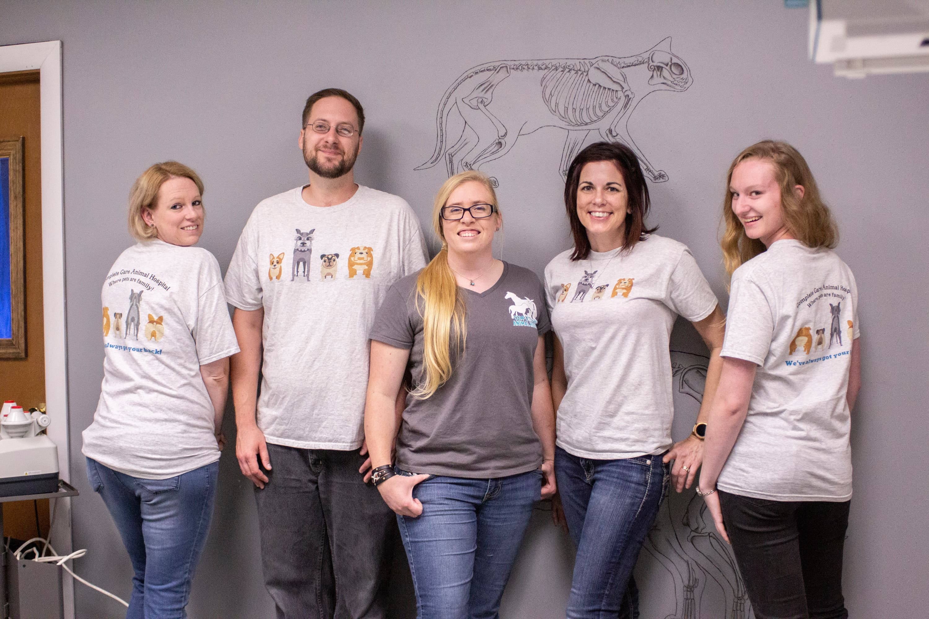 Team at Complete Care Animal Hospital